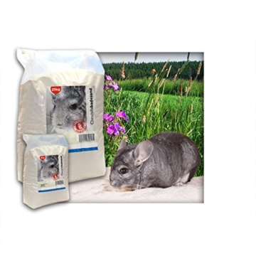 5 kg Premium Chinchilla Badesand Chinchillasand - Made in Germany - samtweiche abgerundete Körnung -
