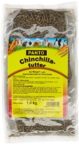 Panto Chinchillafutter, 5er Pack (5 x 1 kg) -