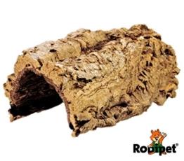 Rodipet® Korktunnel Größe M - Länge ca. 20 cm -