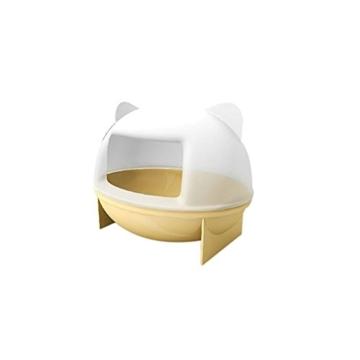 OULII Sandbad Badewanne Badehaus für Maus Chinchilla Ratte Hamster - 2
